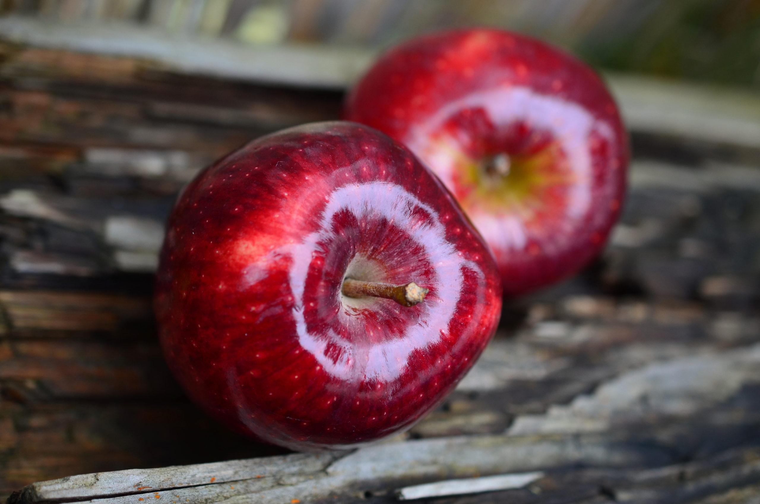 りんごは体に悪い