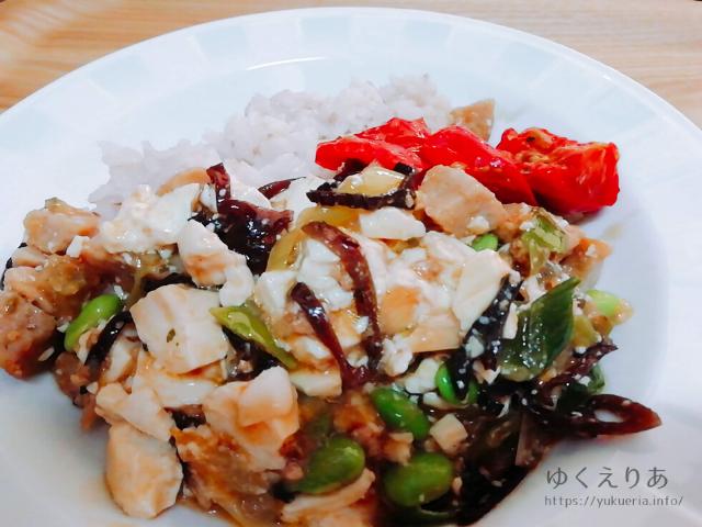 夏の薬膳メニュー 麻婆豆腐